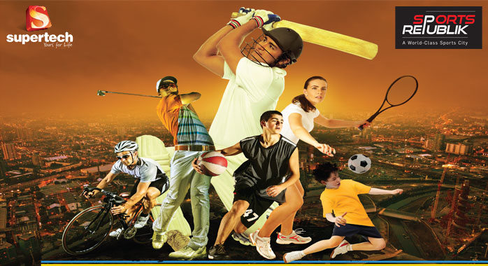 supertech sports republik - new property in noida extension