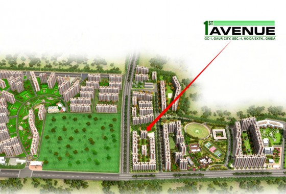 gaurcity 1st avenue in noida extension