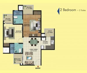 2 bhk apartment in noida extension