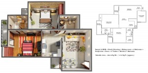 gaur city 4th avenue floorplan