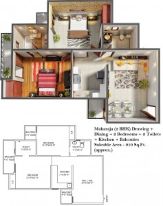 new apartment in noida