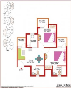 2bhk apartment in noida extension