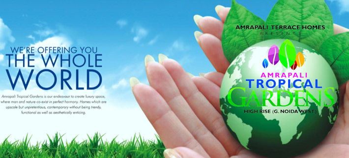 amrapali tropical garden-residential property in noida extension