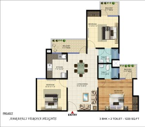 3bhk apartment in noida extension