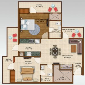 Ace Aspire Floor Plan