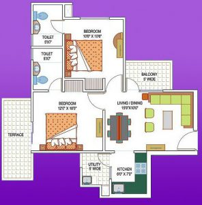 La Residentia floor plan