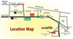 ace aspire location map