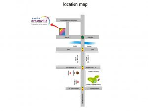 exotica-dreamville-location-map