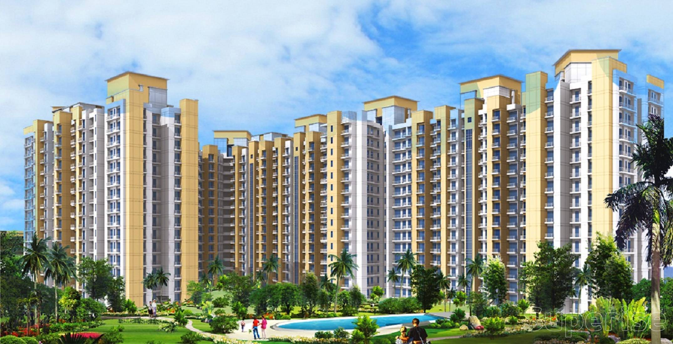 3 BHK Ready to Move Flats in Noida Extension